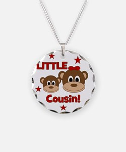 2-Monkey_LittleCousin_girl Necklace