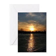 sunset12 Greeting Card