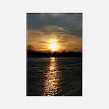 sunset12 Rectangle Magnet