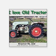 """Kramer KL250 left side CP Square Sticker 3"""" x 3"""""""