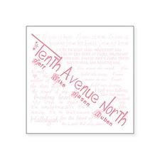 """Tenthavenorth Square Sticker 3"""" x 3"""""""