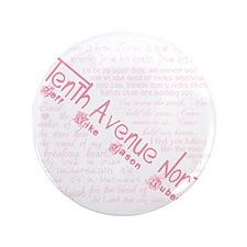 """Tenthavenorth 3.5"""" Button"""