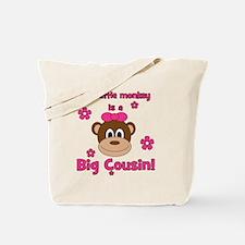 thislittlemonkey_bigcousin_girl Tote Bag