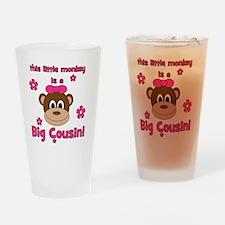 thislittlemonkey_bigcousin_girl Drinking Glass