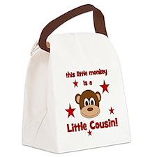 thislittlemonkey_littlecousin Canvas Lunch Bag