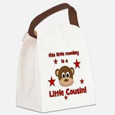 thislittlemonkey_littlecousin Canvas Lunch Bag
