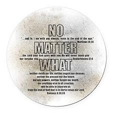 NoMatter Round Car Magnet