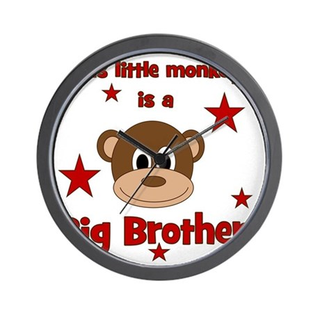 thislittlemonkey_bigbrother Wall Clock