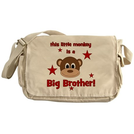 thislittlemonkey_bigbrother Messenger Bag
