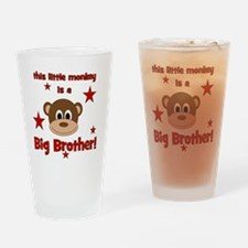 thislittlemonkey_bigbrother Drinking Glass