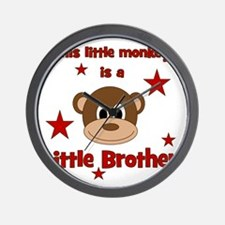 thislittlemonkey_littlebrother Wall Clock
