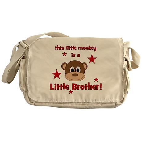 thislittlemonkey_littlebrother Messenger Bag