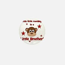 thislittlemonkey_littlebrother Mini Button