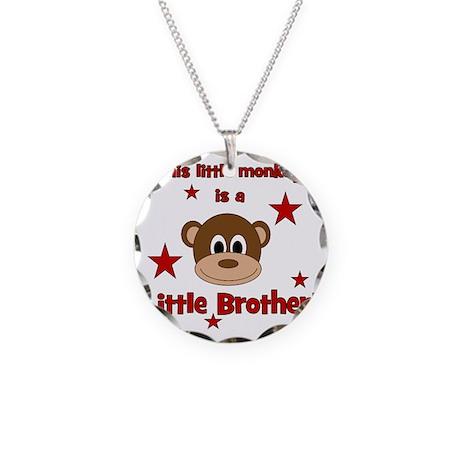 thislittlemonkey_littlebroth Necklace Circle Charm