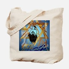 Pass Over Collage Blue Poster Tote Bag