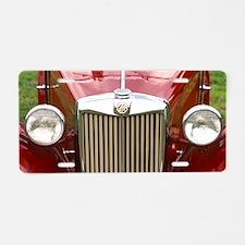 MG Aluminum License Plate