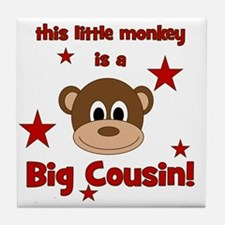 thislittlemonkey_bigcousin Tile Coaster