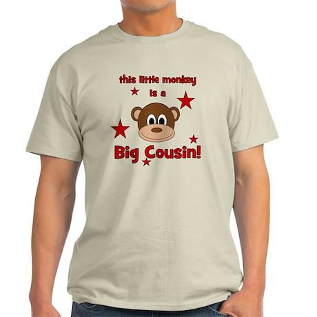 thislittlemonkey_bigcousin Light T-Shirt
