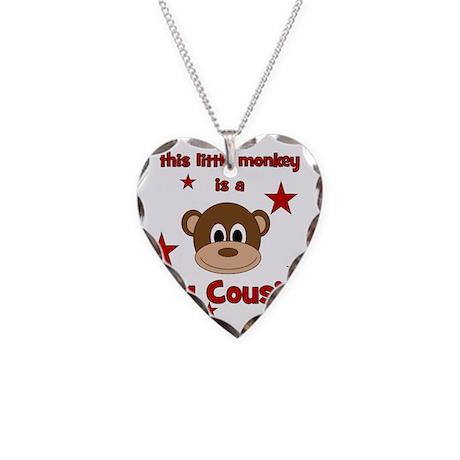 thislittlemonkey_bigcousin Necklace Heart Charm