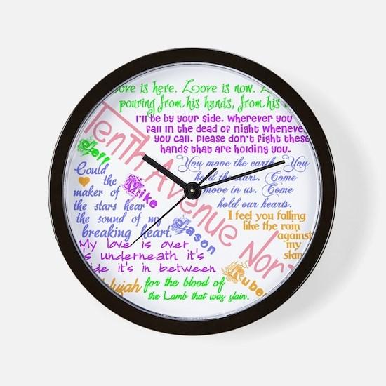 Tenthavenorth2 Wall Clock