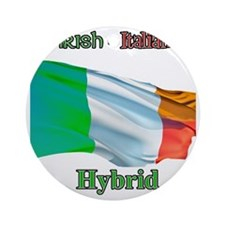 irish_italian Round Ornament