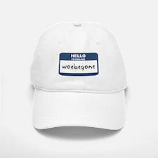 Feeling woebegone Baseball Baseball Cap