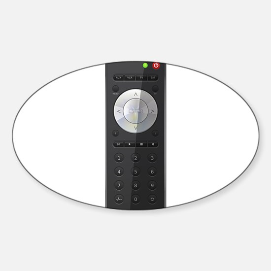 Universal TV Remote Control Decal
