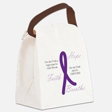 cfRibbonOneDay Canvas Lunch Bag