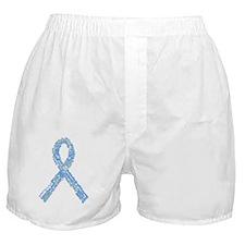 Trisomy 18 and 13 Ribbon Boxer Shorts