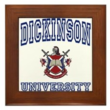 DICKINSON University Framed Tile