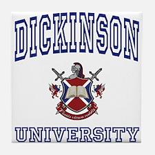 DICKINSON University Tile Coaster
