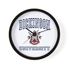 DICKINSON University Wall Clock