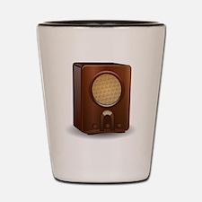 Vintage Radio Shot Glass