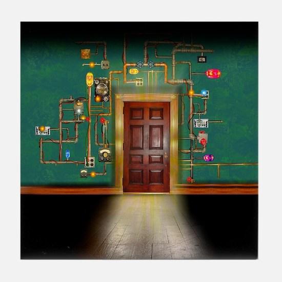 The Brightbuckle Door (SQ) Tile Coaster