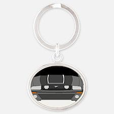 saleen 2 Oval Keychain