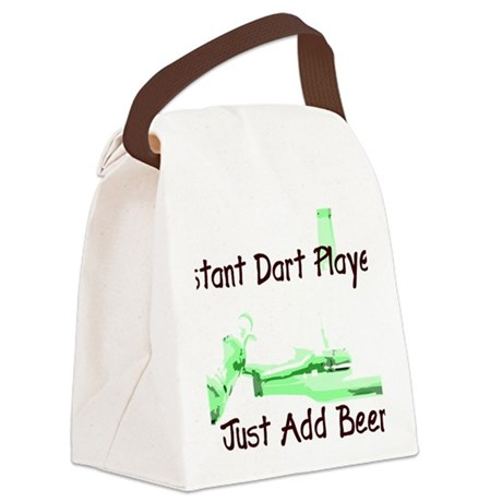 instant.gif Canvas Lunch Bag