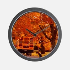 School Days Wall Clock
