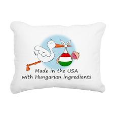 stork baby hun 2 Rectangular Canvas Pillow