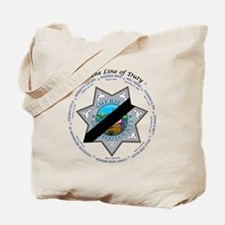 In the Line of Duty Tote Bag