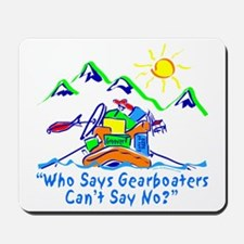 CAFE056NoToGearBoats Mousepad