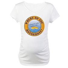 where do you motorboat logo Shirt