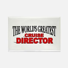 """The World's Greatest Cruise Director"" Rectangle M"