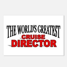 """The World's Greatest Cruise Director"" Postcards ("