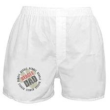 Beagle Dad Boxer Shorts