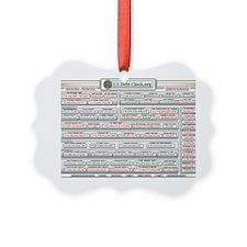 usDebt2911 Ornament