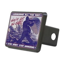 airborne_poster Hitch Cover