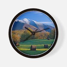 Mt. Mansifield Wall Clock
