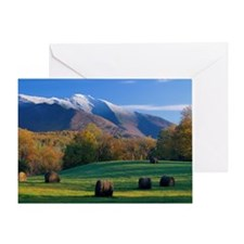 Mt. Mansifield Greeting Card