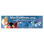 MediaMiner Anime Resourse logo Bumper Sticker
