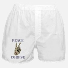 peace corpse.gif Boxer Shorts